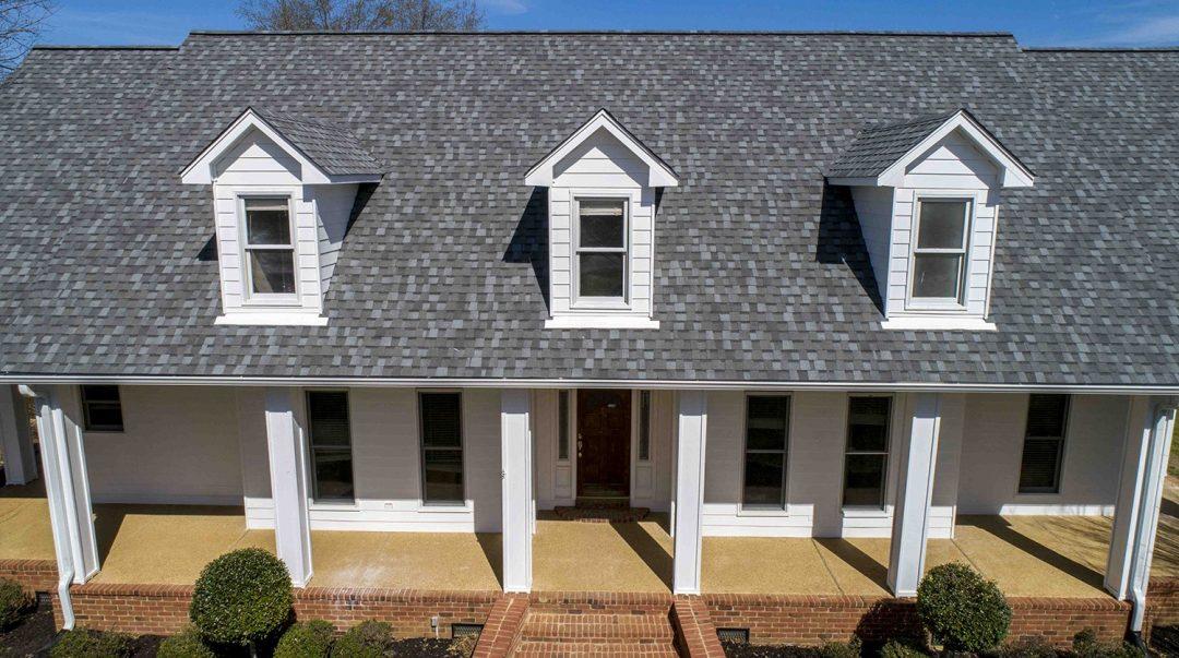 clean grey shingle roof
