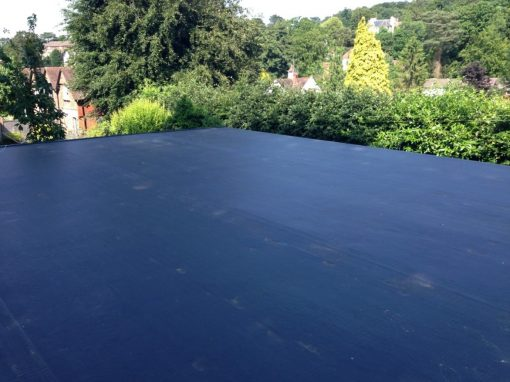 commercial flat roof epdm repair