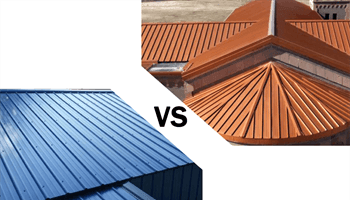 Standing Seam vs. Exposed Fasteners